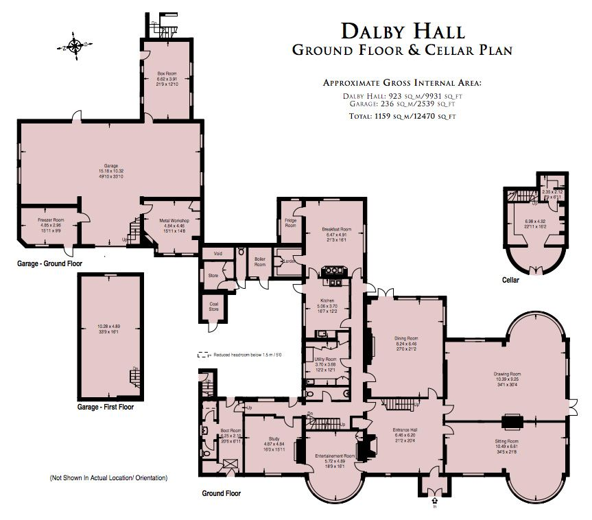 Dalby Hall Estate A Baronial 19th Century Country Estate Near Spilsby Lincolnshire Floor Plans Spilsby How To Plan