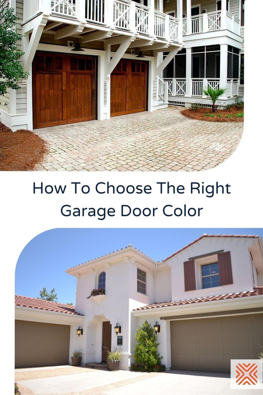 Choosing the Right Garage Door Paint for Your Home ... on Choosing Garage Door Paint Colors  id=43903