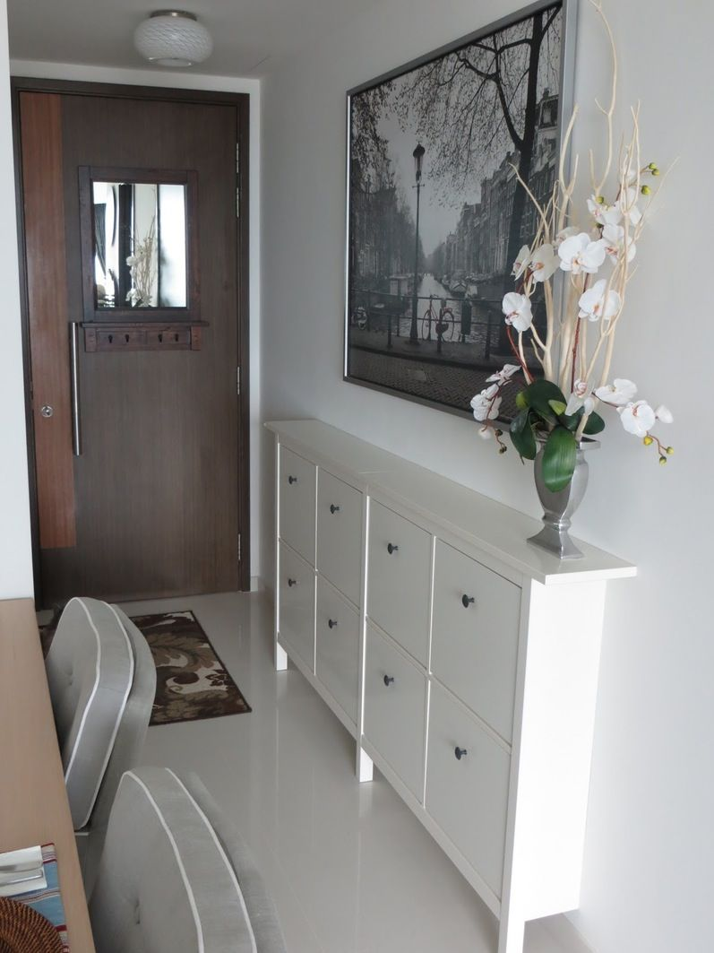 Narrow hallway cabinet furniture toobe8 large size picture for Small hallway bathroom ideas
