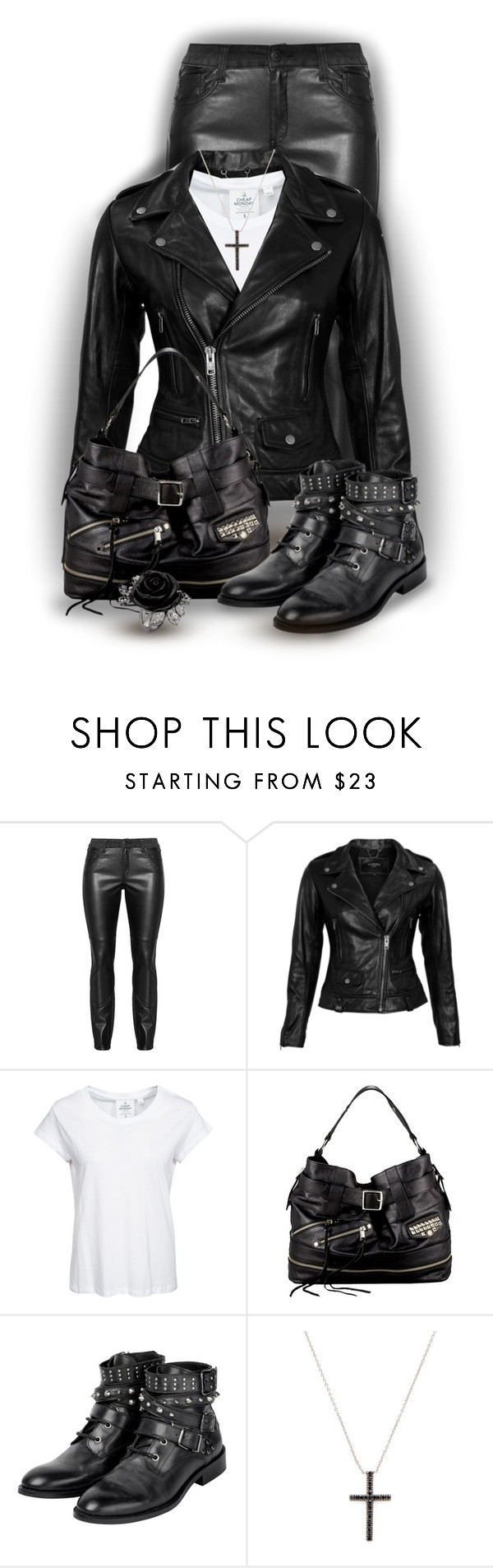 """""""Moto"""" by joy2thahworld ❤ liked on Polyvore featuring VIPARO, Cheap Monday, Rebecca Minkoff and Sethi Couture"""