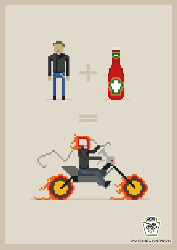 Motoqueiro Fantasma  Heinz