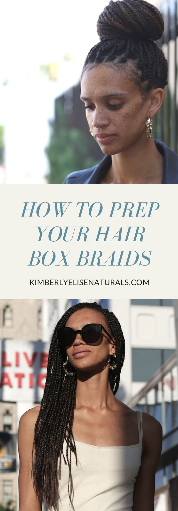 How to prepare your hair for box braids braids pinterest box