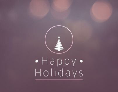 "다음 @Behance 프로젝트 확인: ""• Happy Holidays •"" https://www.behance.net/gallery/12850459/-Happy-Holidays-"
