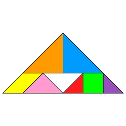 tangram incomplete triangle tangram solution 78 providing teachers and pupils with tangram puzzle