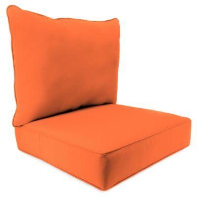 Buy Sunbrella® 24 Inch X 24 Inch 2 Piece Deep Seat Chair