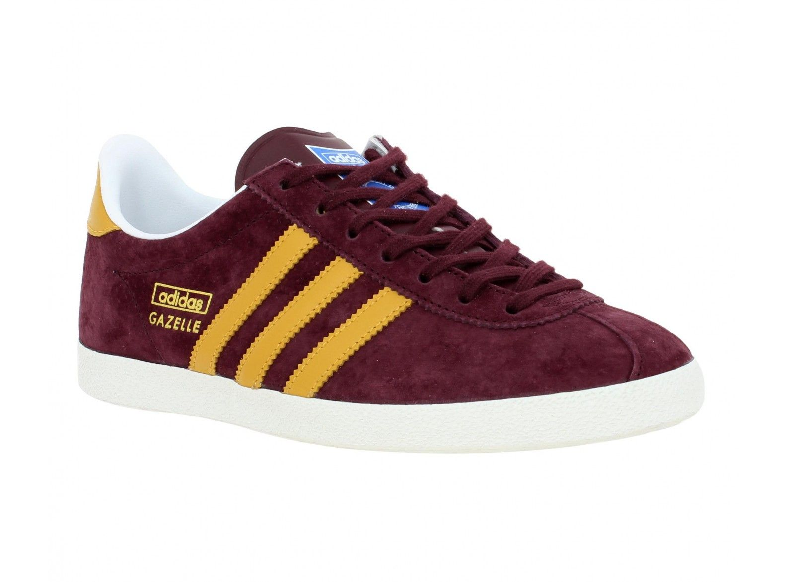 adidas gazelle velours femme prune gold chaussures adidas pinterest adidas. Black Bedroom Furniture Sets. Home Design Ideas