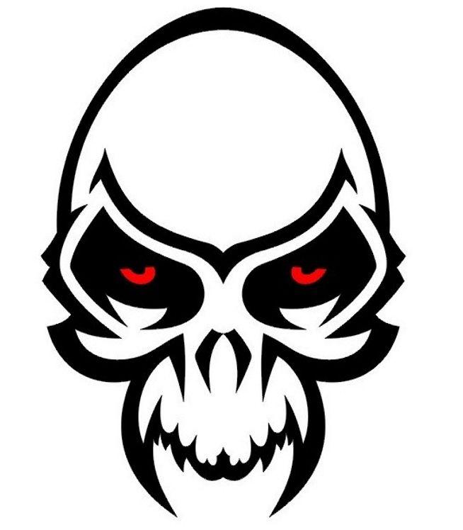 Sugar Skull Tattoo Designs Popular Tattoo Design Skull Stencil Tribal Skull Skull Tattoo Design
