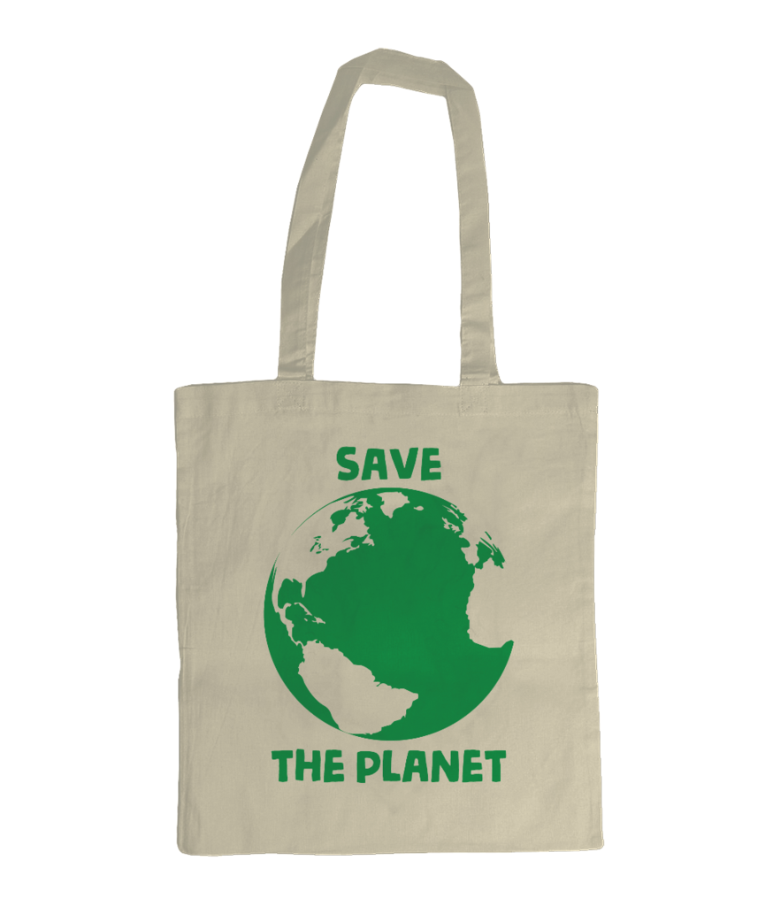 Save The Planet Natural Shoulder Graphic Slogan Tote Bag  save  planet   savetheplanet   69807412a6c6d