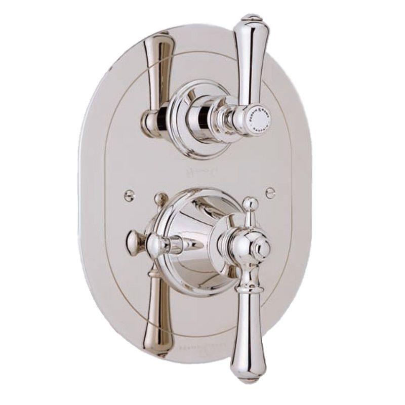 5756 Perrin Rowe Concealed Thermostatic Shower With Oval Face