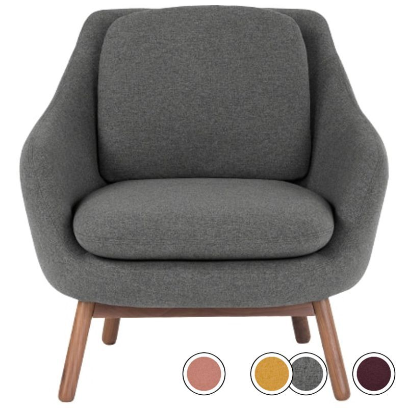 Accent chair marl grey oslo accent chairs chair