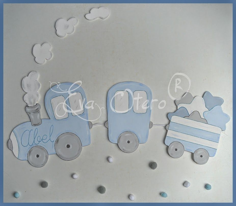 Siluetas infantiles decoraci n infant l personalizada for Decoracion habitacion bebe goma eva