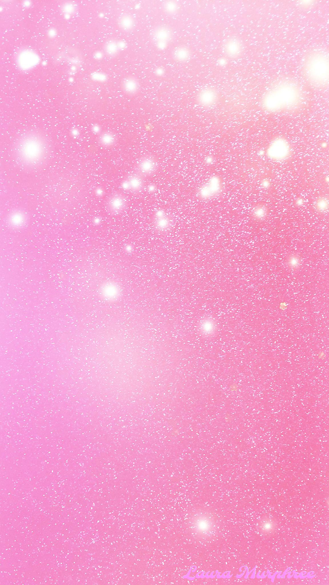 Glitter Phone Wallpaper Pink Sfondi Nel 2019 Sfondi Rosa Sfondi