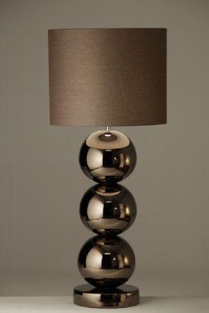 milano tafellamp bronze 3 bollen 23 artres pinterest