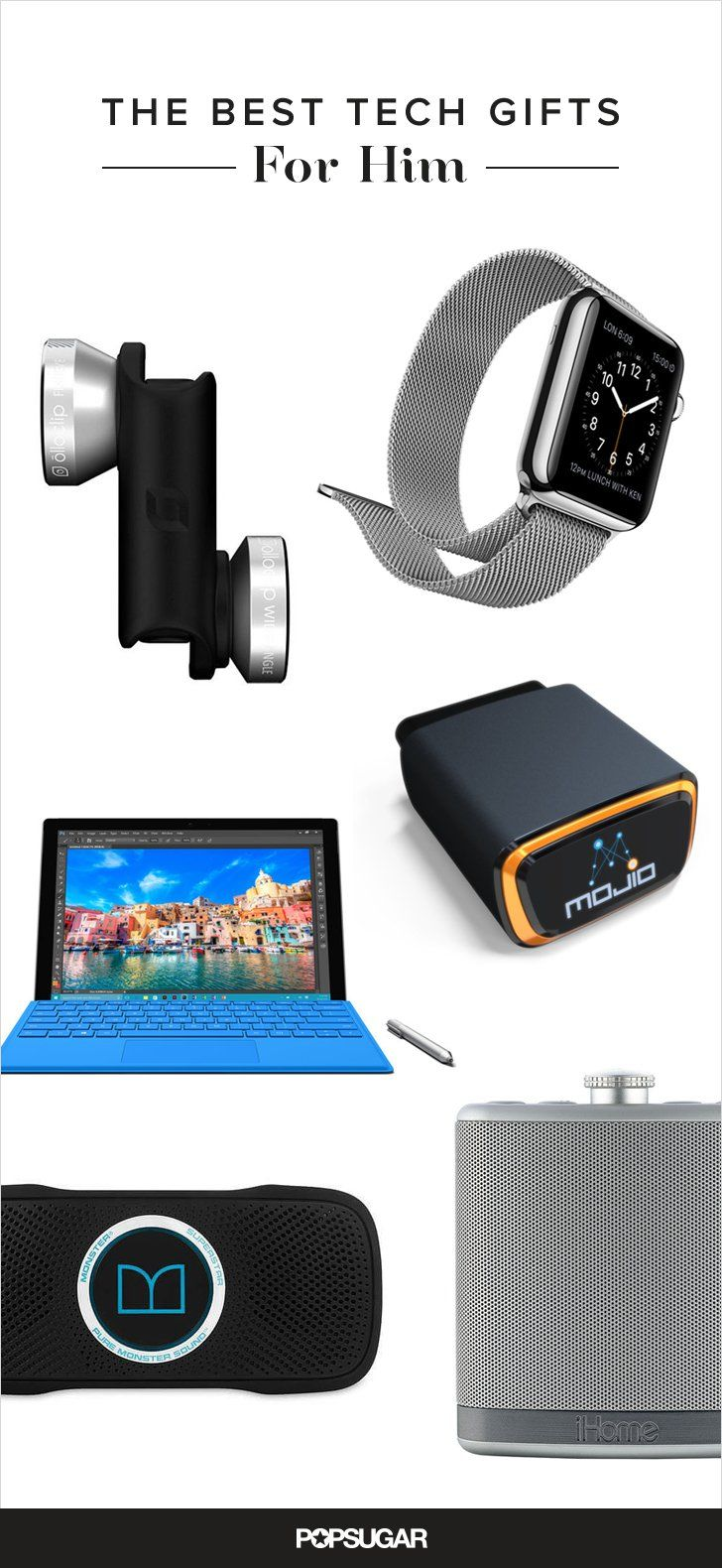 Need Ideas On What Gifts To Get Him For The Holidays Take A Look At These 28 Unexpected Tech Gift You In Ing Mood