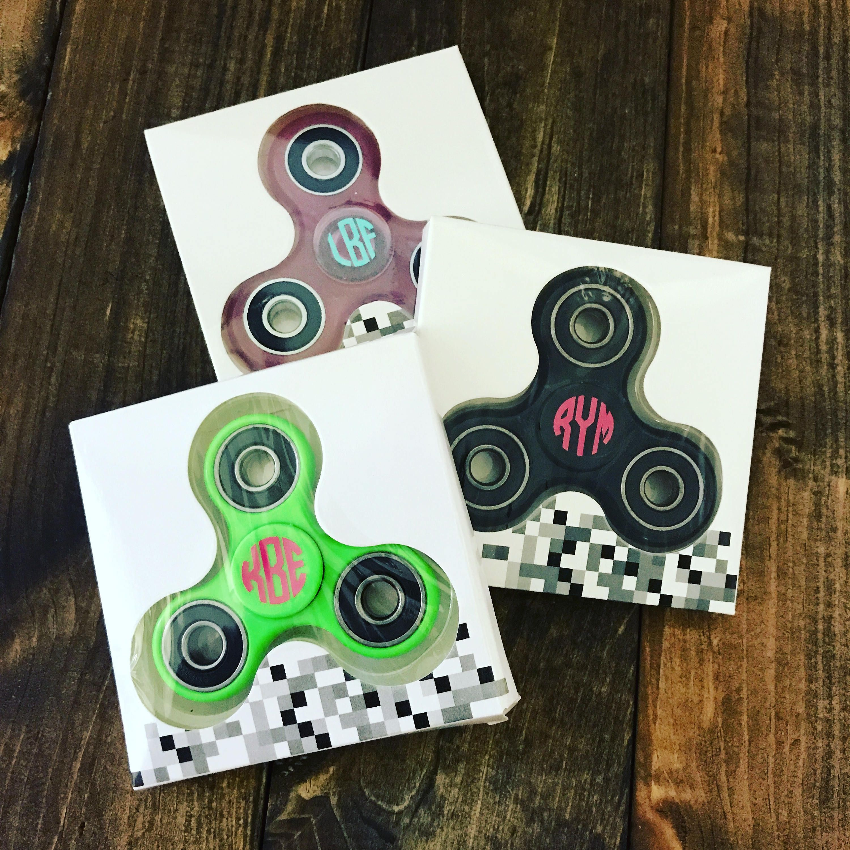 fidget spinners monogrammed fidget spinners personalized fidget
