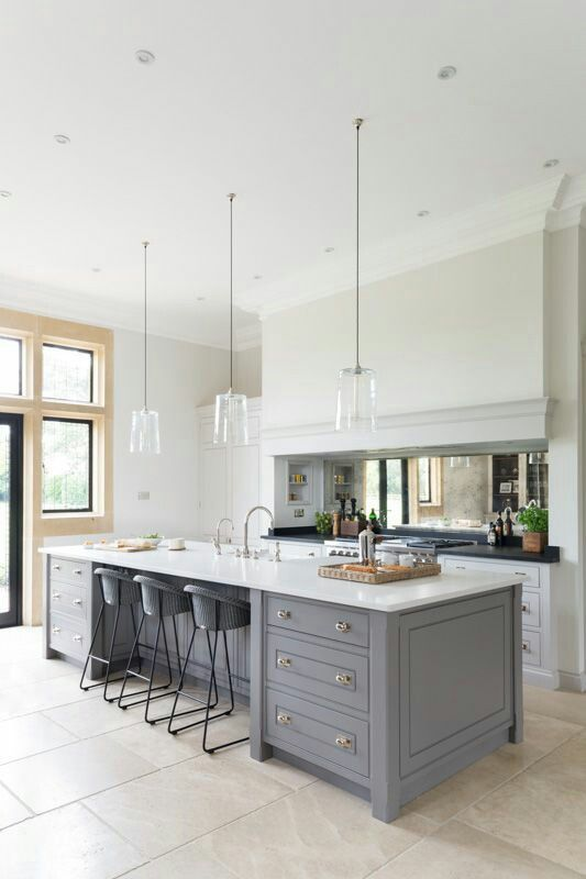 Contemporary Shaker Kitchen | Shaker kitchen, Contemporary and Kitchens
