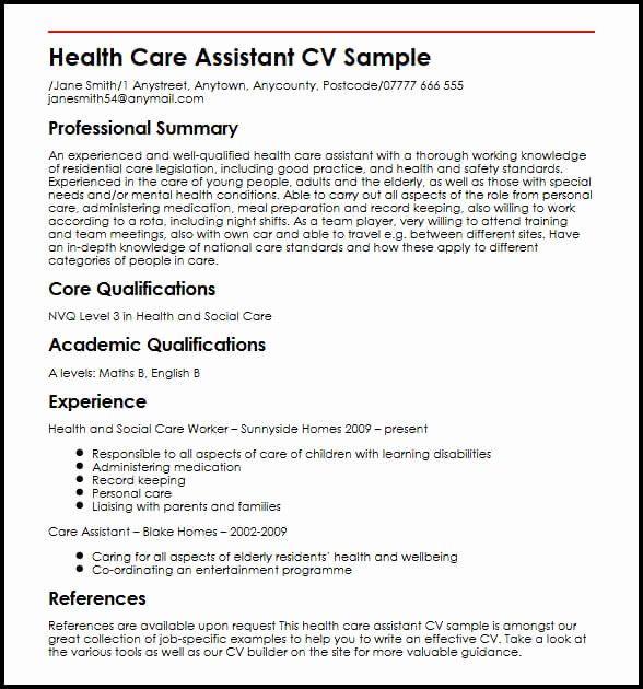 Personal assistant Job Description Resume Unique Health ...