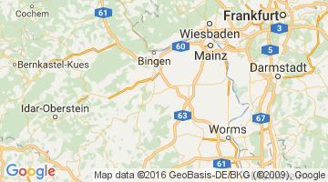 Area map of Wollstein in Germany To learn more about Mainz