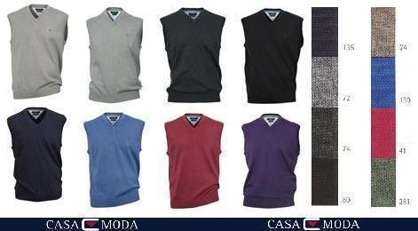 +Casa Moda V-Pullunder 004160 L-6XL 11 Farben