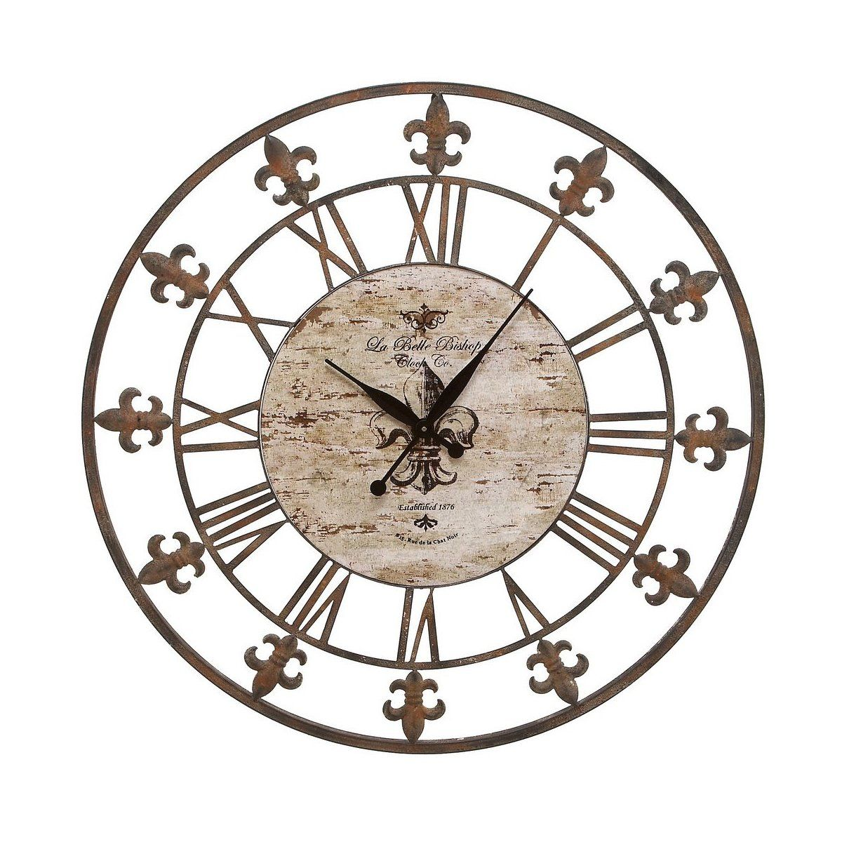 Shop Aspire Home Accents  13813 Wrought Iron Wall Clock at ATG Stores. Browse our wall clocks, all with free shipping and best price guaranteed.