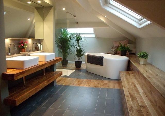 Fa anyag felhasználása a fürdőszobában home pinterest