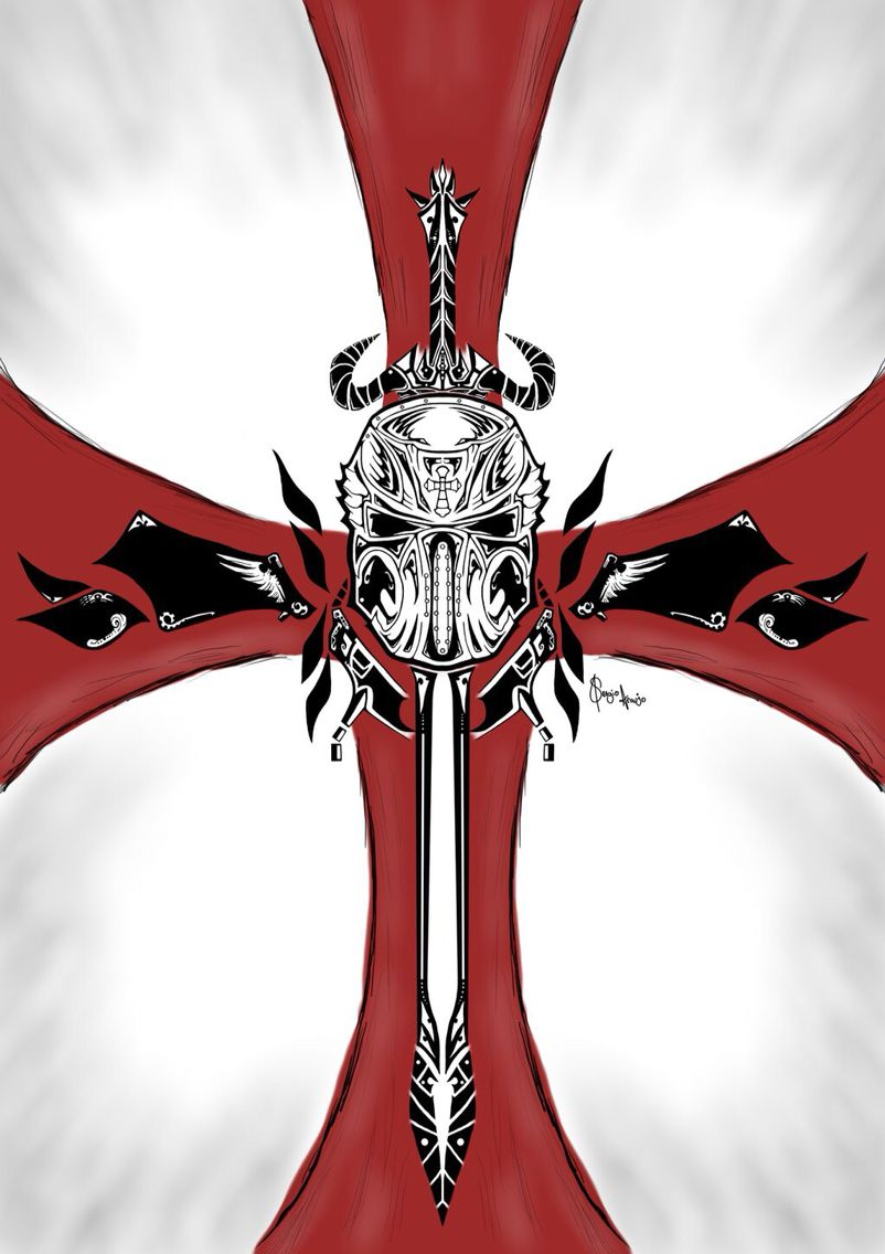 Cool crusader cross | Tattoo | Pinterest | Crusaders ...