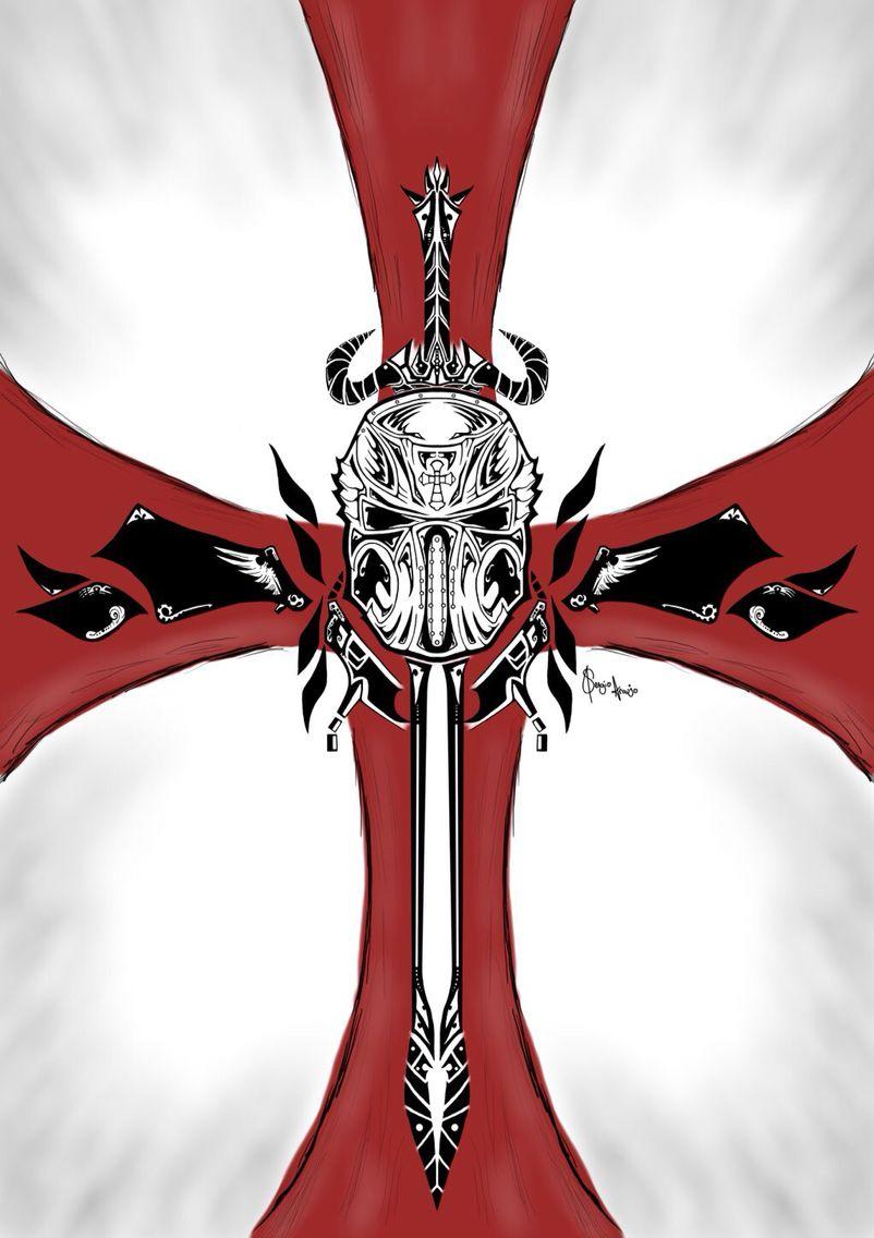 cool crusader cross tattoo pinterest crusaders knight and rh pinterest com christian crusader cross tattoo crusader cross tattoo meaning