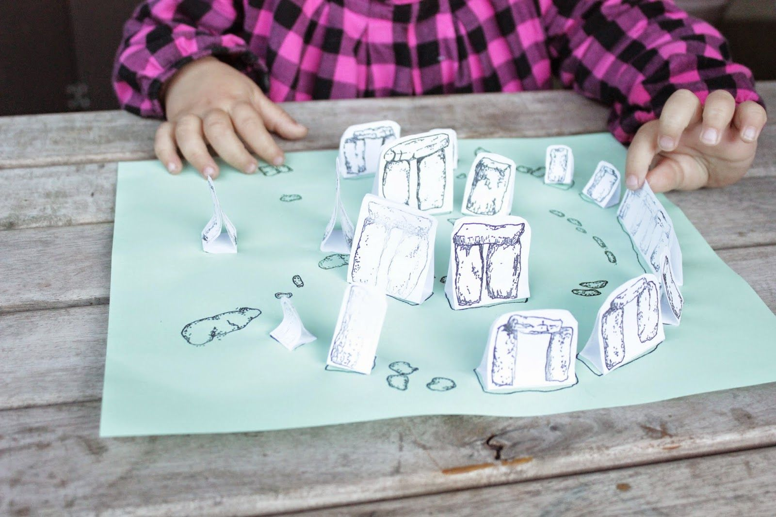 Printable Stonehenge Activity For Kids Just Print The