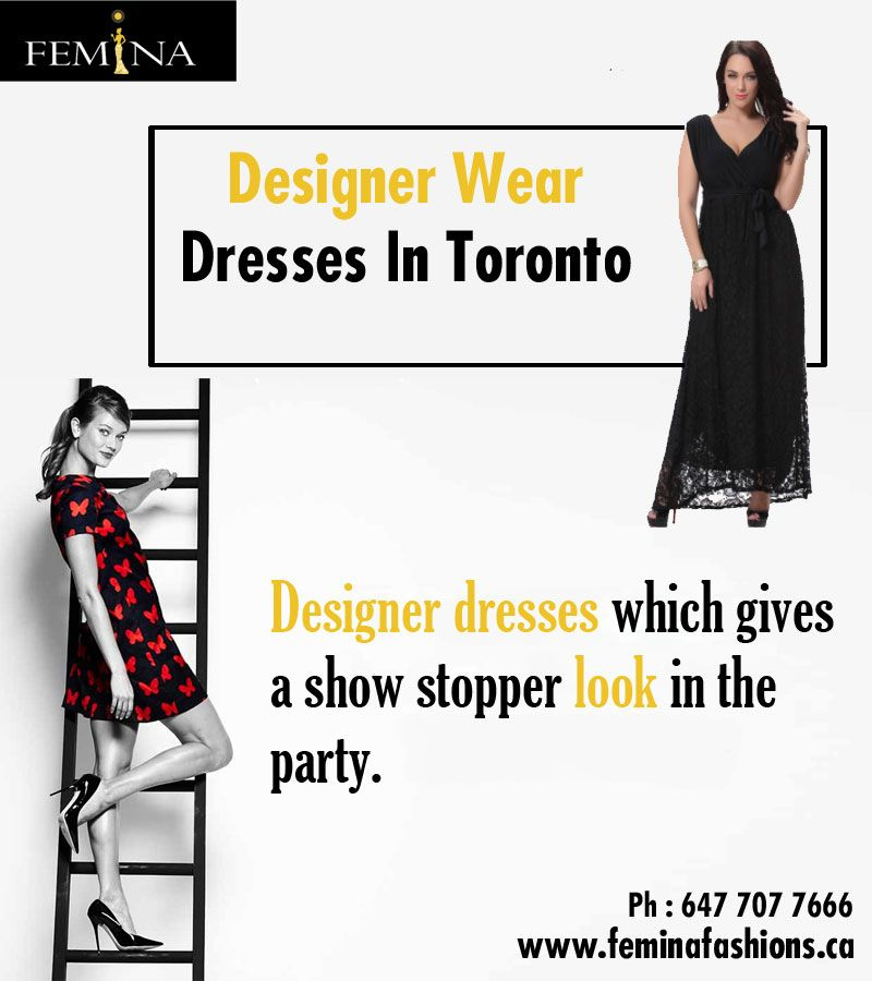 Purchase now best collection of Designer Wear Dresses Toronto for ...