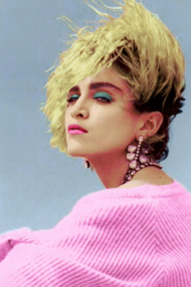 40 Epic Examples Of Epic 80s Makeup More 80s Makeup Madonna