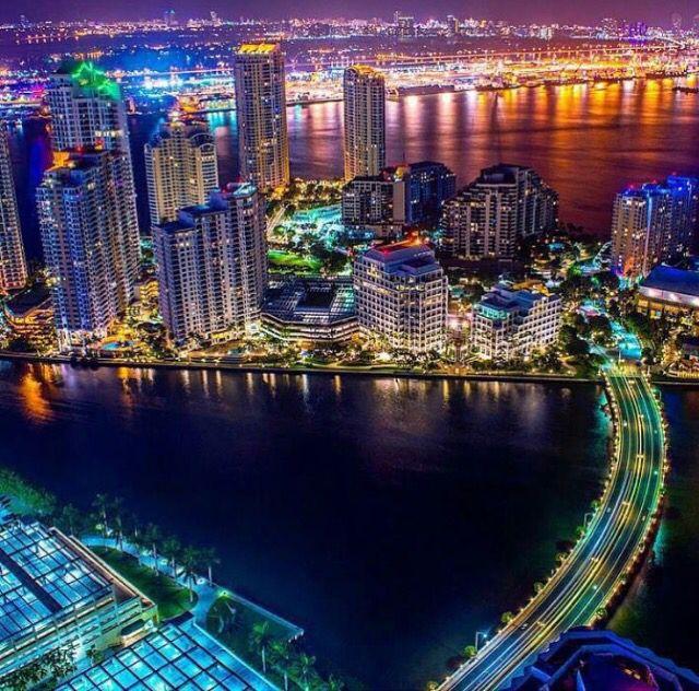 Brickell Key Miami Beautiful Places To Visit South Beach Florida Miami Florida
