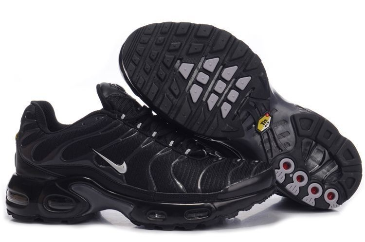 meet 7cf70 573a0 nike tns mens black all , air max TN in all black