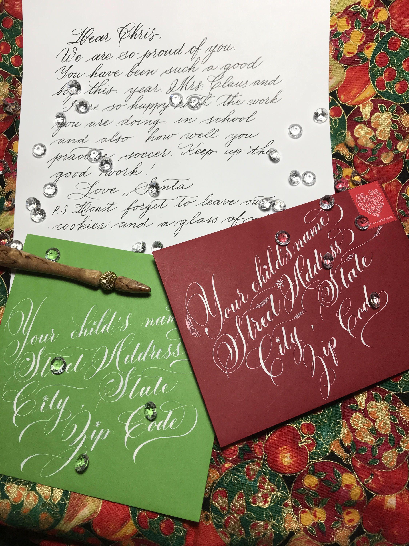 Santa's letters by ElenaPrikhodkoKnapp on Etsy https//www