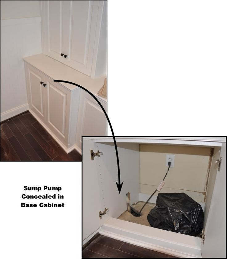 Hiding A Sump Pump Hide Sump Pump Basements Sump Pump Cabinet - Basement pumps