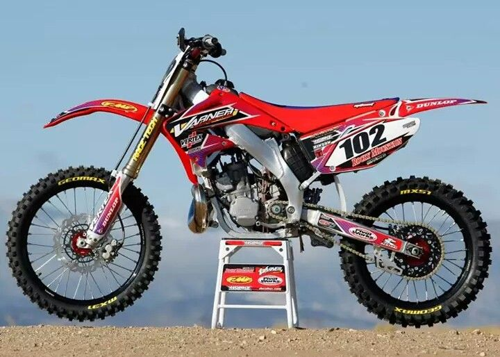 06 Cr 250 Motocross Racing Supercross