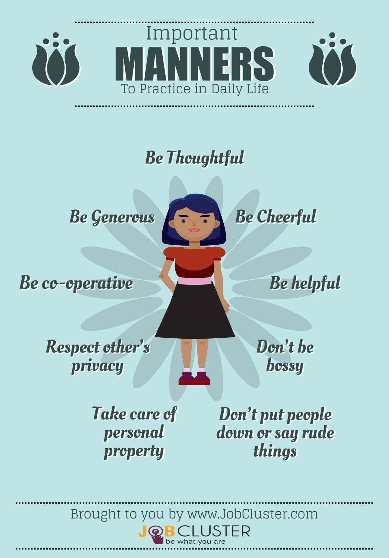 Basics And Importance Of Good Manners And Etiquettes