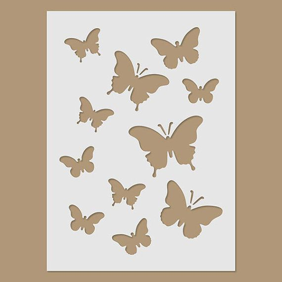Plantilla de mariposas mariposas pinterest plantilla - Plantillas de mariposas para pintar ...
