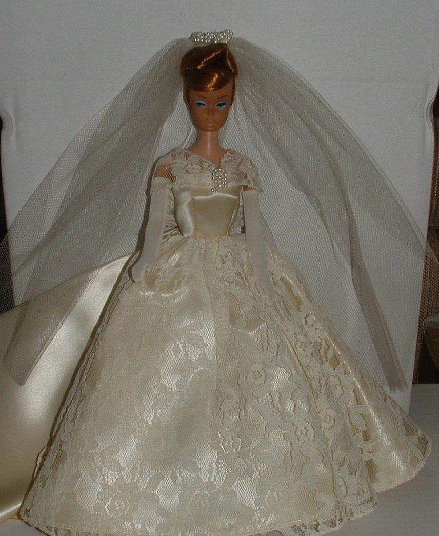 Vintage Wedding Dresses Chicago: 1960s Original Halina's Of Chicago Wedding Gown With Huge