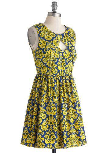 ModCloth Fanfare and Square dress