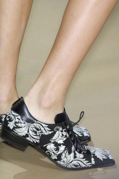 printed loafers  VIVIENNE WESTWOOD SS 2008