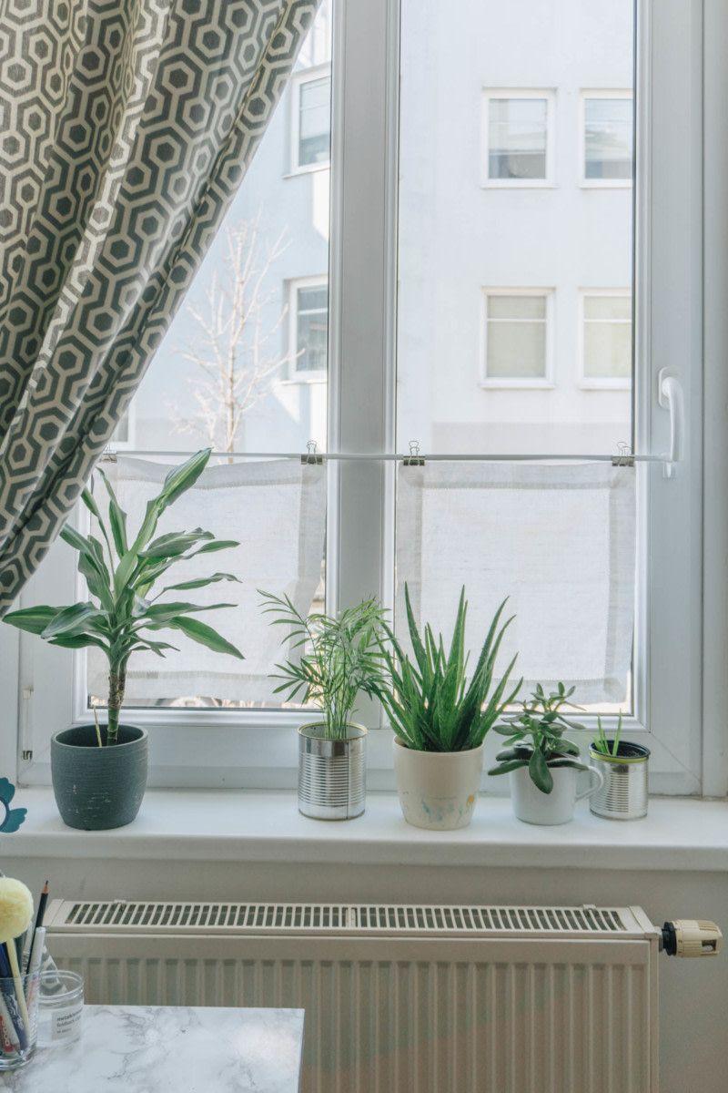 Diy Wohnzimmer Diy Mini Fenster Vorhange Als Sichtschutz Diy