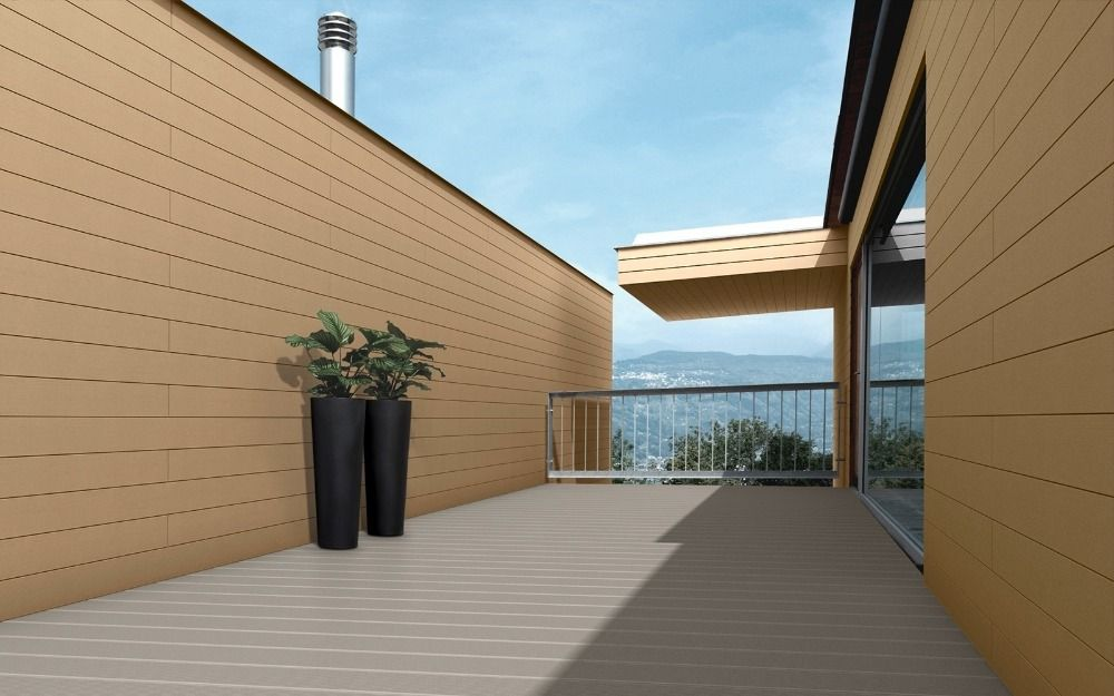 Wood Plastic Composite Wpc Profiles For Wall Panel Wall Cladding Facade View Wood Plastic Composite Wpc Wall Panel Wall Cladding Honour Product Detail Outdoor Wall Panels Wall Paneling Outdoor Walls