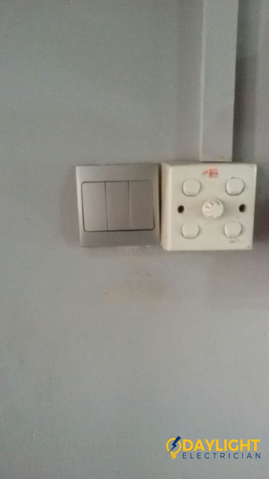 Replace Light Switch Electrician Singapore Bedok HDB