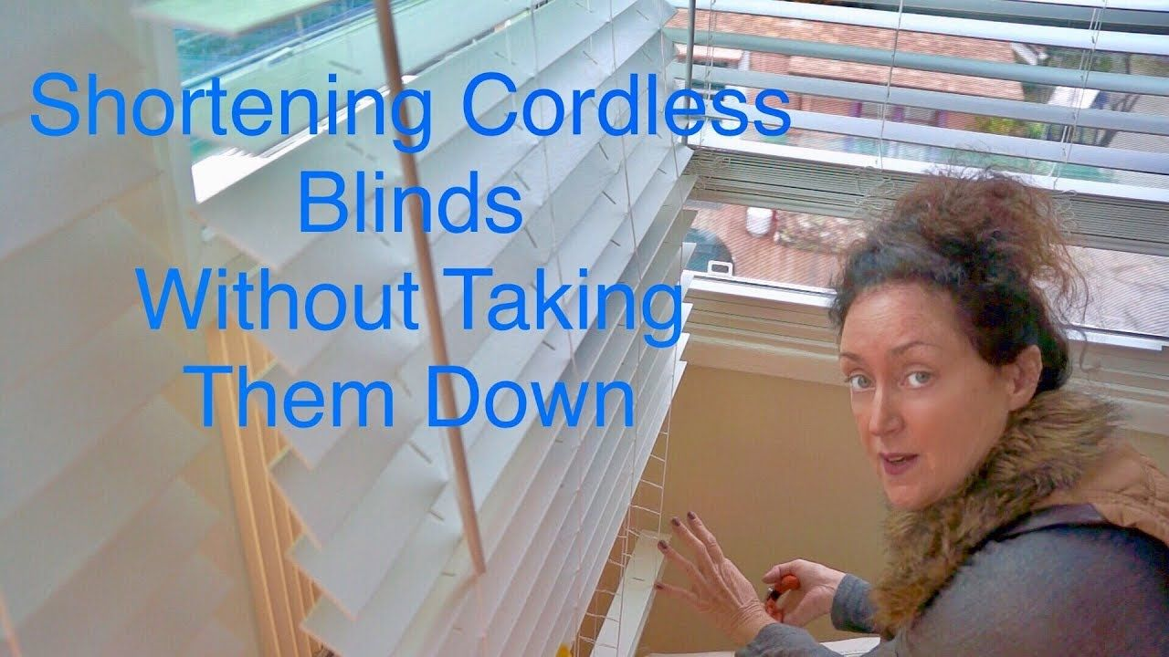 15cb4a23d25efd08294fdc0a9d151b6e - How To Shorten Better Homes And Gardens Cordless Blinds