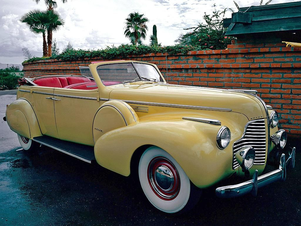 Buick Limited Sport Phaeton Classic Car Wallpaper Old