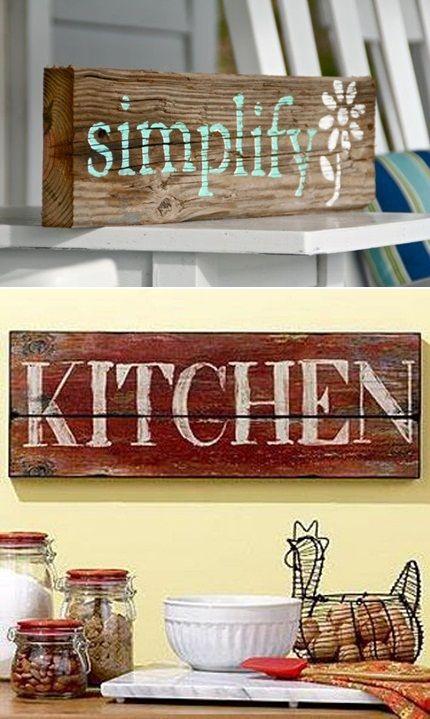 Typografia Na Starej Desce Dekoracja Wnetrza Typography On The Old Board Interior Decoration Old Wood Decor Home Decor