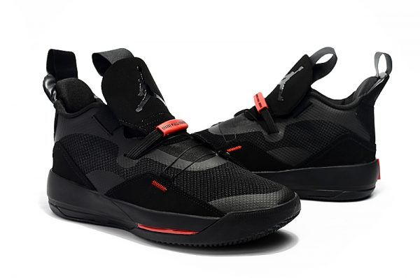 dc9748395e6 2018 Newest Air Jordan 33 Shoes Black/University Red in 2019 | Air ...