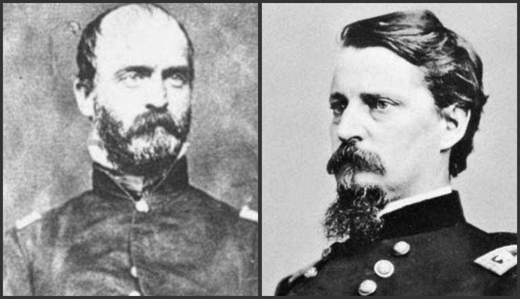 Civil War Confederate General Lewis A Armistead Portrait /& Aut
