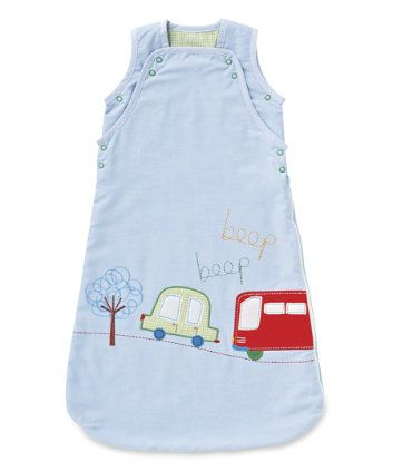 Mothercare Happy Town Sleeping Bag 25 Pounds Botones