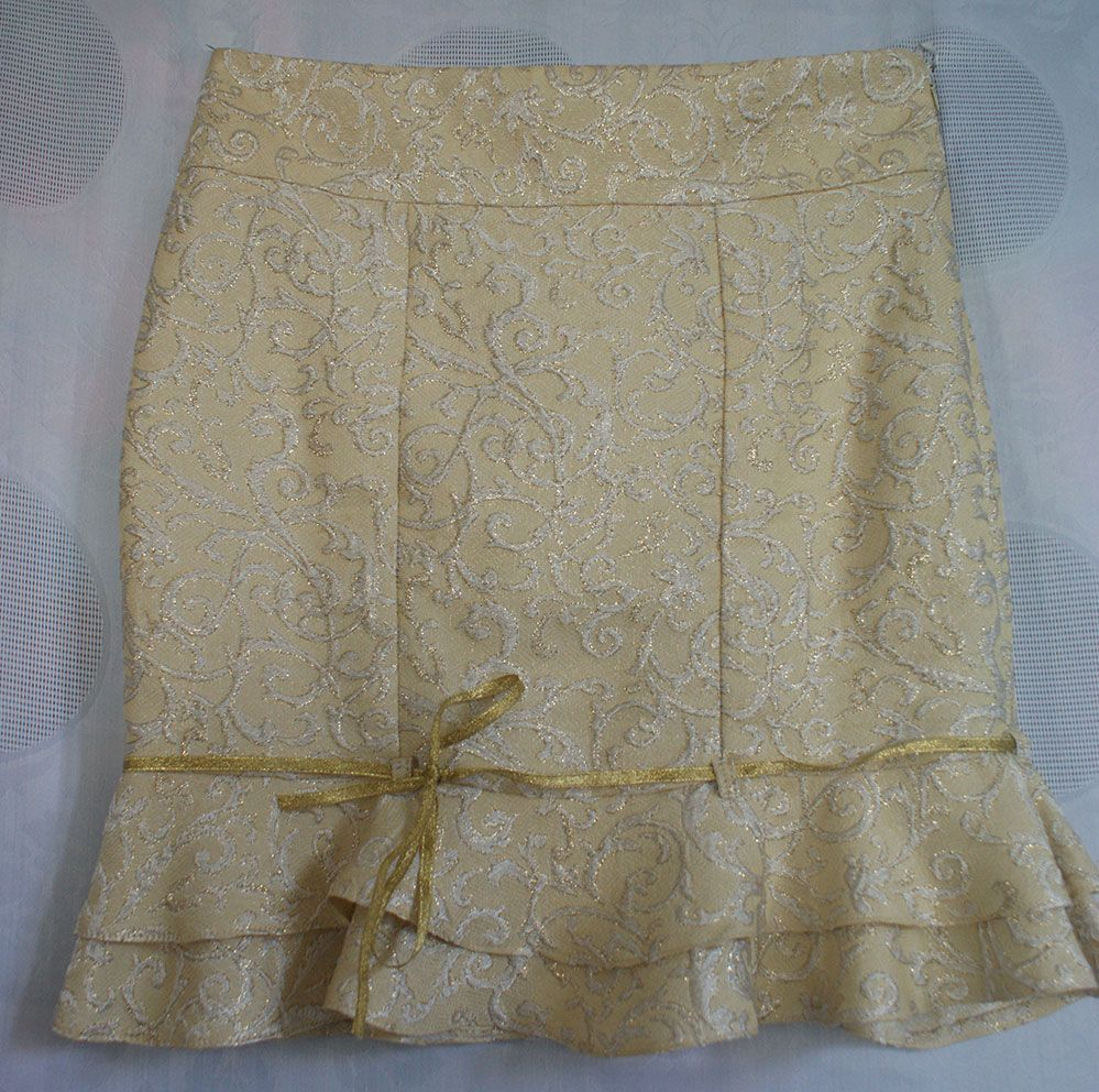 Givenchy gold brocade skirt - part of a two piece suit - for sale on my vintage blog: noravintage.blogspot.com